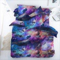 Детское постельное белье бязь Космос