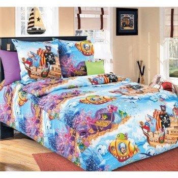 Детское постельное белье бязь Пираты Пираты от Царский Дом в интернет-магазине PannaTeks