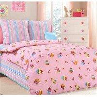 Детское постельное белье в кроватку бязь Сластена