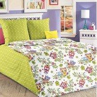 Детское постельное белье в кроватку бязь Совята