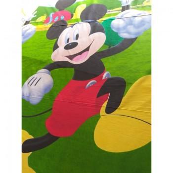 Детское постельное белье в кроватку ранфорс Микки Маус 3Д фото 1