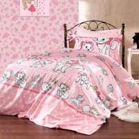 Постельный комплект в кроватку ранфорс Кошечка Мэри