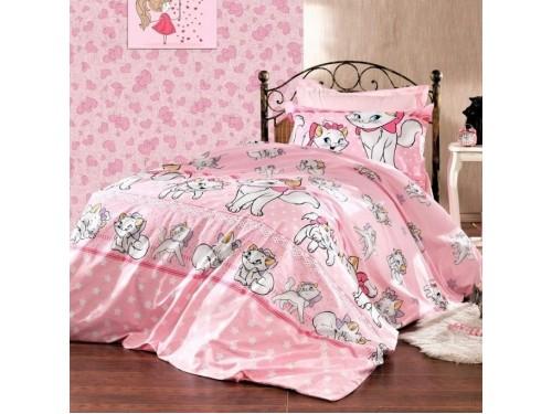 Детское постельное белье в кроватку ранфорс Кошечка Мэри 0969 от Царский Дом в интернет-магазине PannaTeks