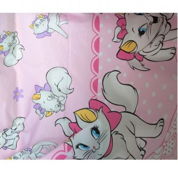 Детское постельное белье в кроватку ранфорс Кошечка Мэри фото 1