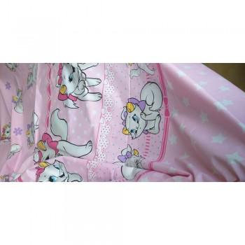 Детское постельное белье в кроватку ранфорс Кошечка Мэри фото 2