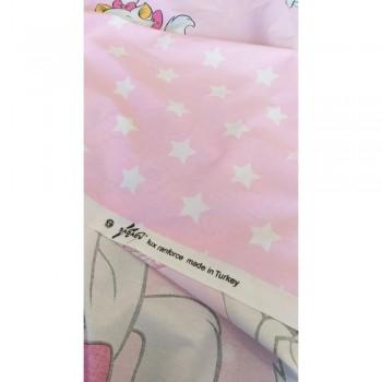 Детское постельное белье в кроватку ранфорс Кошечка Мэри фото 3