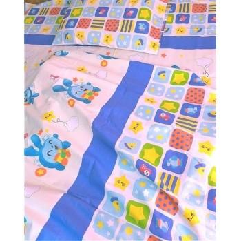 Детское постельное белье в кроватку Малышарики-Смешарики ранфорс фото 2