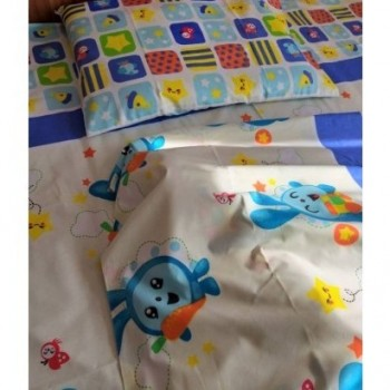 Детское постельное белье в кроватку Малышарики-Смешарики ранфорс фото 3