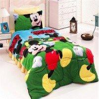 Детское постельное белье в кроватку ранфорс Микки Маус 3Д