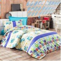 Детское постельное белье в кроватку Малышарики-Смешарики ранфорс