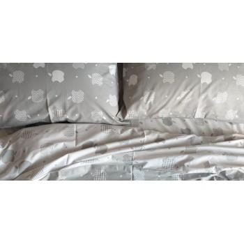 Детское постельное белье ранфорс Apple style фото 2