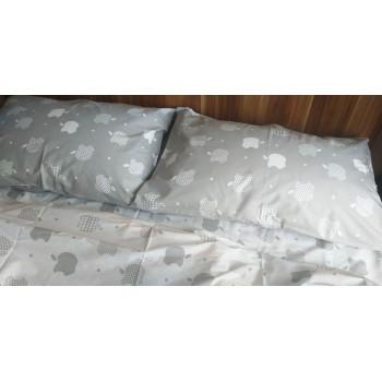 Детское постельное белье ранфорс Apple style фото 1