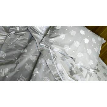 Детское постельное белье ранфорс Apple style фото 3