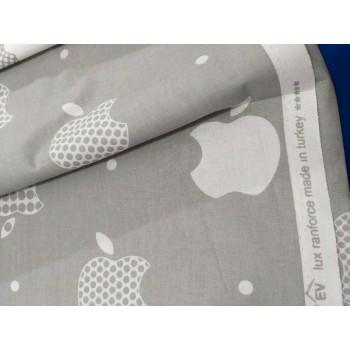 Детское постельное белье ранфорс Apple style фото 5