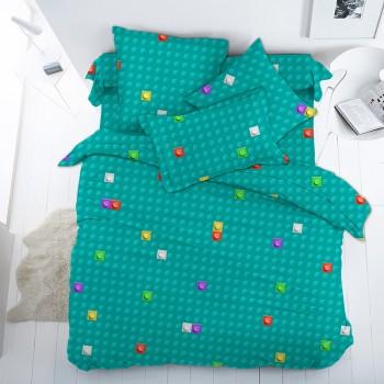 Детское постельное белье поплин ЛЕГО
