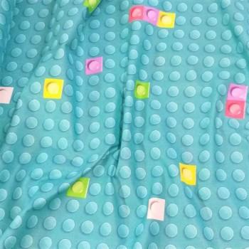 Детское постельное белье в кроватку поплин Лего БЭТМЕН фото 3
