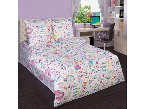 Детское постельное белье для девочки поплин Модные штучки Модные штучки от Царский Дом в интернет-магазине PannaTeks