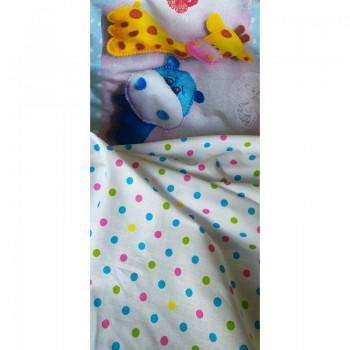 Детское постельное белье в кроватку поплин Плюшевый мир фото 3