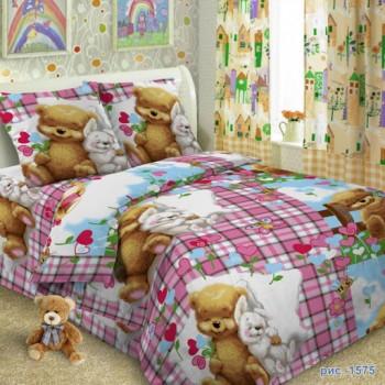 """Комплект белья подростковый поплин """"Сладкий сон"""" Сладкий сон от Царский Дом в интернет-магазине PannaTeks"""