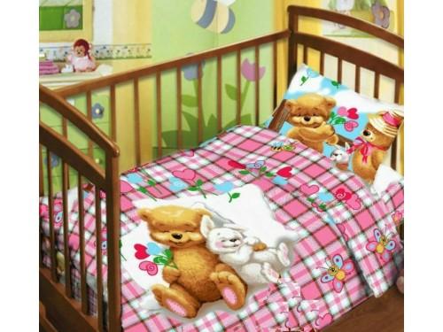 Детское постельное белье в кроватку поплин Сладкий сон Сладкий сон от Царский Дом в интернет-магазине PannaTeks