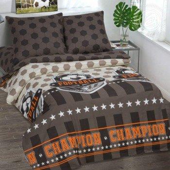 Детское постельное белье для мальчика поплин Чемпион