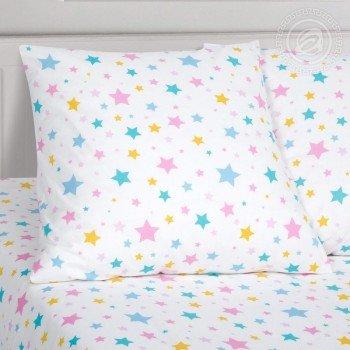 Детское постельное белье для девочки поплин Карусельки-Единорожки фото 2
