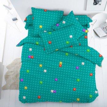 Детское постельное белье в кроватку поплин ЛЕГО ЛЕГО от Царский Дом в интернет-магазине PannaTeks