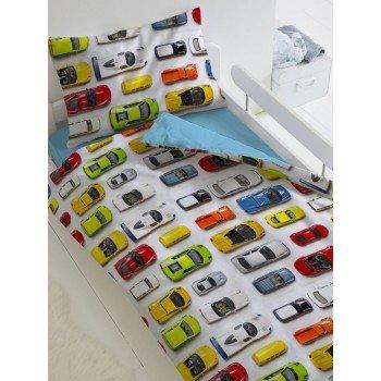 Детское постельное белье в кроватку поплин Модельки Модельки от Царский Дом в интернет-магазине PannaTeks