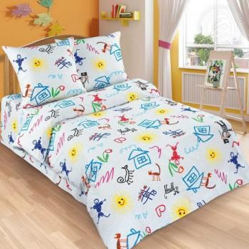 Детское постельное белье поплин Переменка Переменка от Царский Дом в интернет-магазине PannaTeks