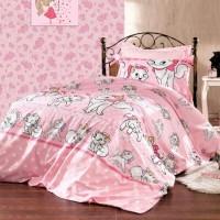 Детское постельное белье с котиками Кошечка Мэри ранфорс