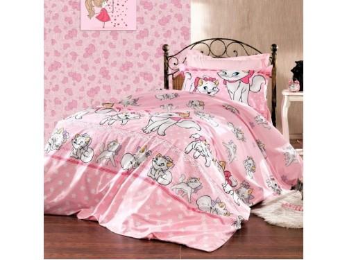 Детское постельное белье с котиками Кошечка Мэри ранфорс  0951 от Царский Дом в интернет-магазине PannaTeks