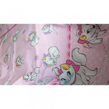 Детское постельное белье с котиками Кошечка Мэри ранфорс  фото 1
