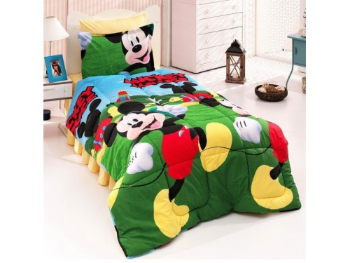 Детское постельное белье Микки Маус 3Д ранфорс люкс 0949 от Царский Дом в интернет-магазине PannaTeks