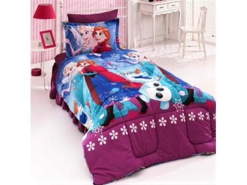 Детское постельное белье Холодное Сердце (Фрозен) для девочки ранфорс 0953 от Царский Дом в интернет-магазине PannaTeks