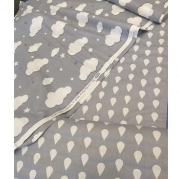 Детское постельное белье ранфорс Тучки фото 1