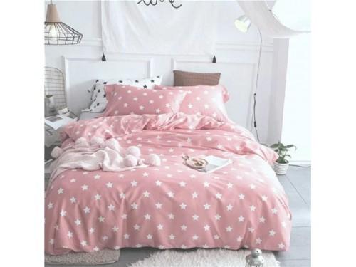 Детское постельное белье Звезды на Розовом ранфорс 0956 от Царский Дом в интернет-магазине PannaTeks
