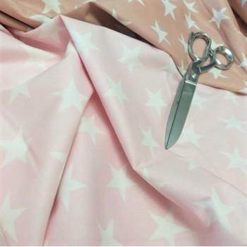Детское постельное белье Звезды на Розовом ранфорс фото 1