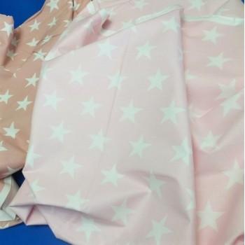 Детское постельное белье Звезды на Розовом ранфорс фото 2