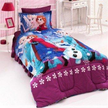 Детское постельное белье Холодное Сердце (Фрозен) для девочки ранфорс