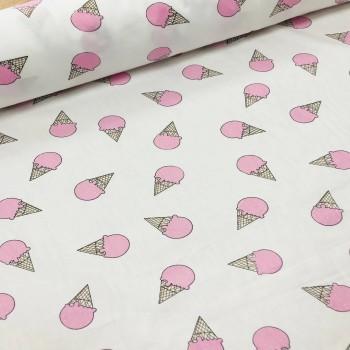 """Комплект подростковый сатин """"Мороженое розовое"""" фото 2"""