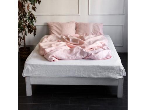 """Постельное белье лен """"Микс Розовый + Белый"""" Лен Розовый+ Белый микс от  в интернет-магазине PannaTeks"""