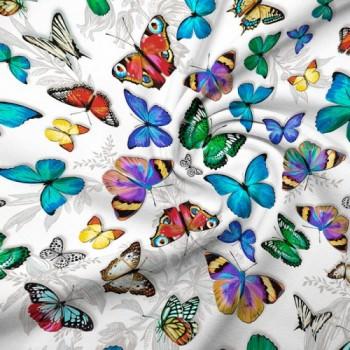 """Постельное белье перкаль """"Бабочки 3D"""" фото 1"""