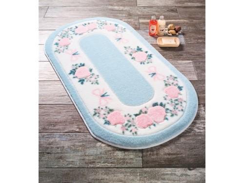 Коврик для ванной Rose Frame Mavi 110083300 от Confetti в интернет-магазине PannaTeks