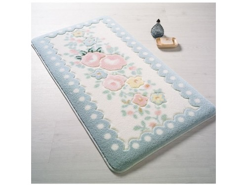 Коврик для ванной Confetti Serenity Mavi 110083308 от Confetti в интернет-магазине PannaTeks
