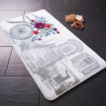 Коврик для ванной Confetti Rose Basket Gri