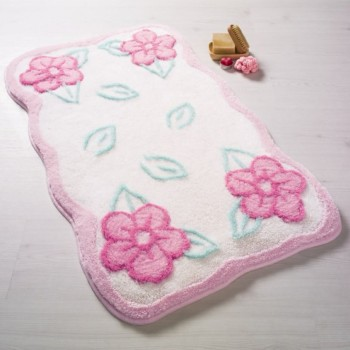 Коврик для ванной Confetti Ramses Pastel Pembe