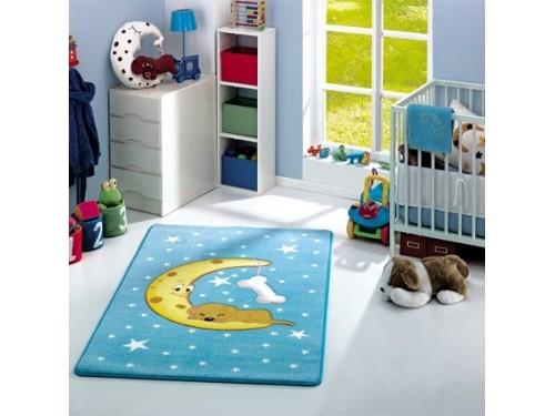 Детский коврик Confetti Moon Blue Турция 110083411 от Confetti в интернет-магазине PannaTeks