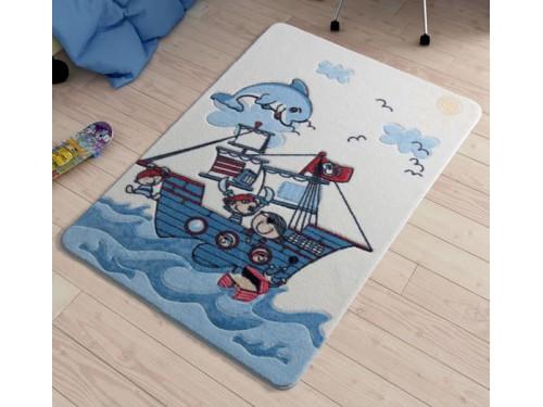 Коврик в детскую комнату Smiley Dolphin Blue 110083413 от Confetti в интернет-магазине PannaTeks
