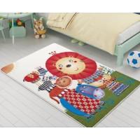 Коврик в детскую комнату Lion King Orange