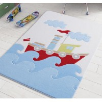 Коврик в детскую комнату Baby Ship Blue